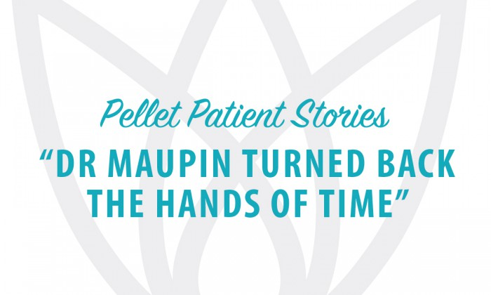 Dr Kathy Maupin turned back the hands of time!