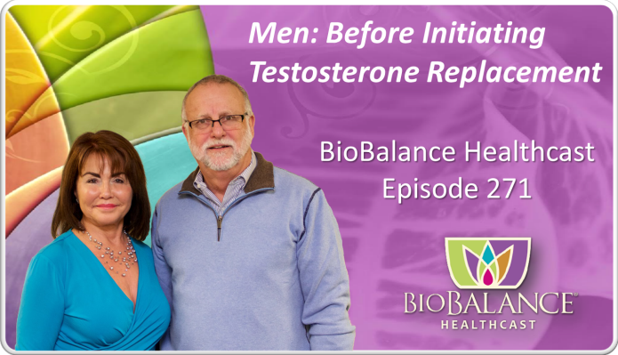 271 Men Initiating Testosterone Replacement